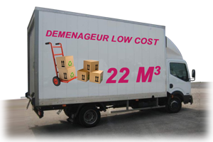 Demenageur low cost 22m3